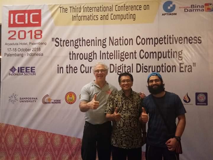 ICIC APTIKOM 2019 Im Event - Event & Conference one page